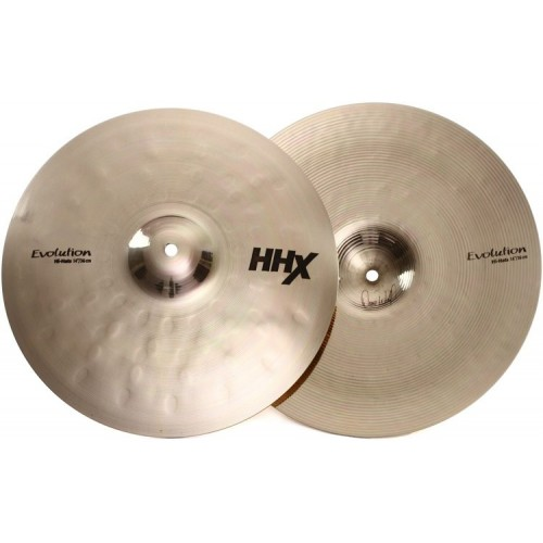 SABIAN HHX  EVOLUTION HI-HAT 14''
