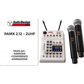 Audiodesign PAMX12 2UHF