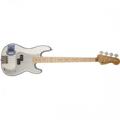 Fender Steve Harris Precision Bass Olympic White