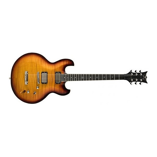 DBZ Guitar Imperial Flamed Amber Tobacco Burst